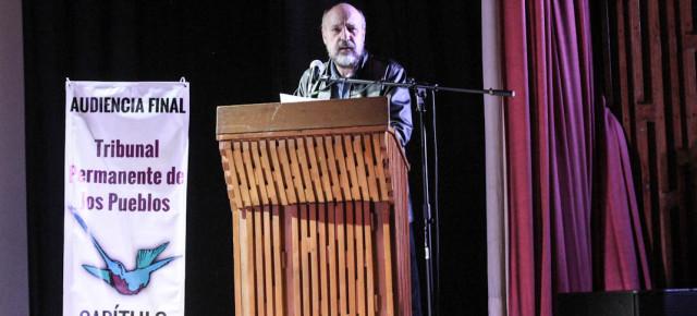 Intervención de Luis Hernández Navarro en la Audiencia final del TPP Capítulo México